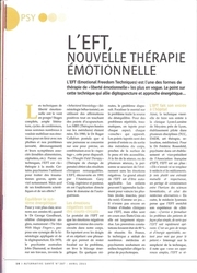 L'EFT, nouvelle thérapie émotionnelle - Geneviève Gagos